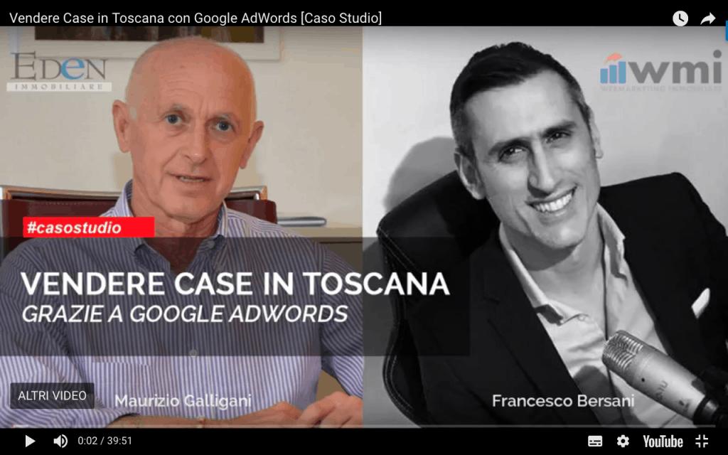Caso Studio AdWords Immobiliare Toscana